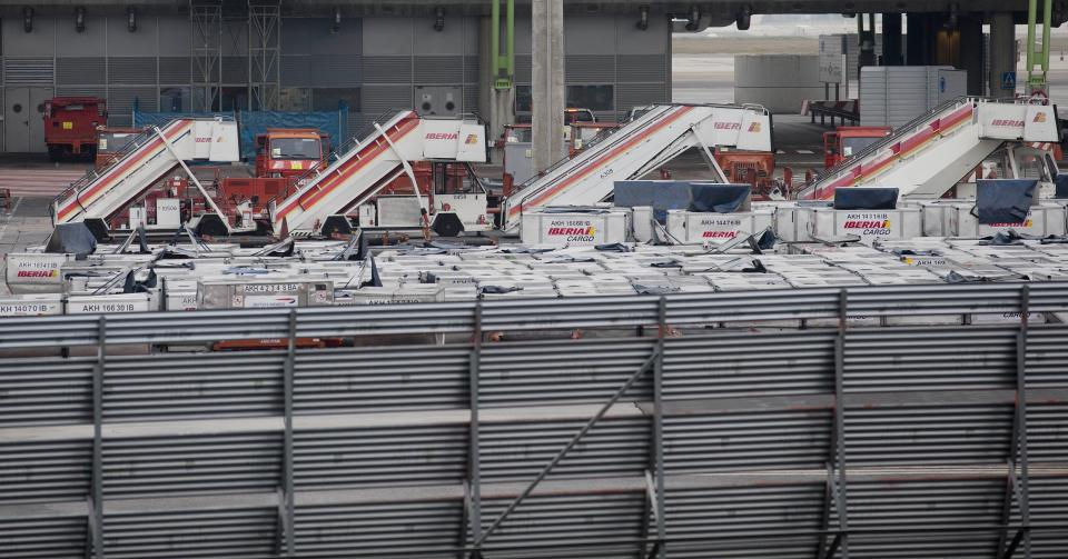 Workers at Spain's Iberia begin 15 days of strikes