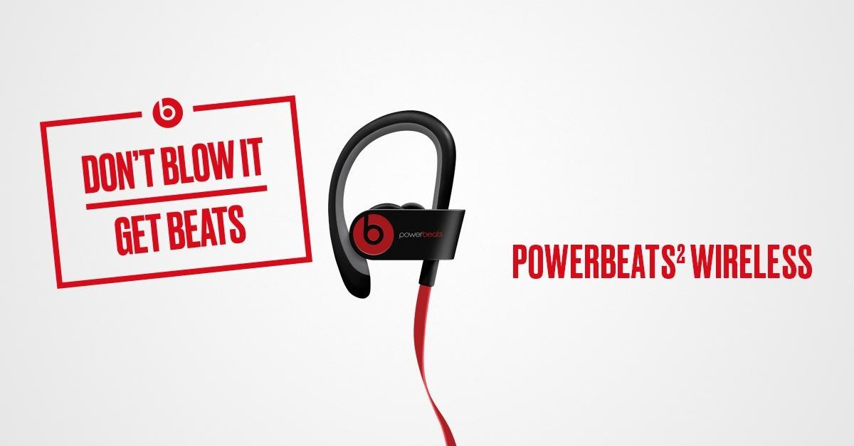 This Holiday, Don't Blow It. Give Beats by Dre™.
