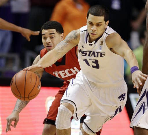 No. 13 Kansas State beats Texas Tech 75-55
