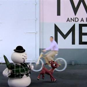 Happy Holidays from Rudolph, Two and a Half Men & CBS