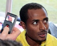 "Kenenisa Bekele, pictured in January 2012, said he was ""100 percent back"" after running the third fastest 10,000 metres time in the world this year on Friday"