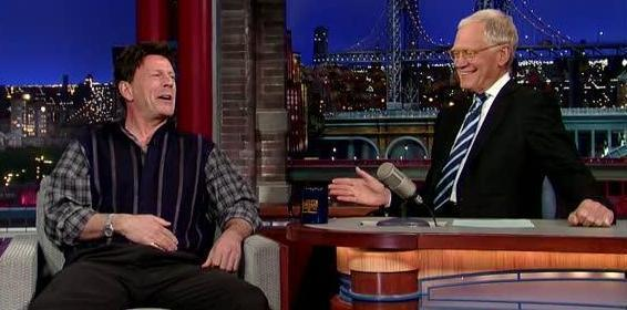 Bruce Willis's 1985 Hair Returns to the 'Late Show'