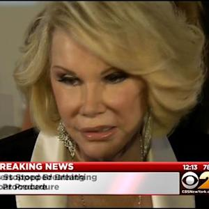 CBS 2 Sources: Joan Rivers Rushed To Hospital, Went Into Cardiac Arrest