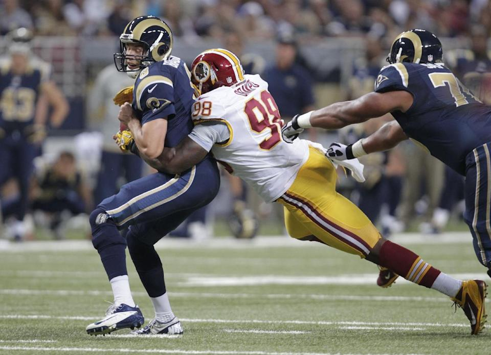 By any measure, Redskins D off to 'terrible start'