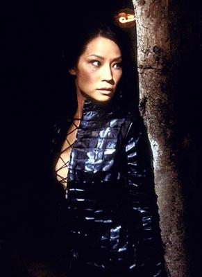Lucy Liu in Columbia's Charlie's Angels: Full Throttle