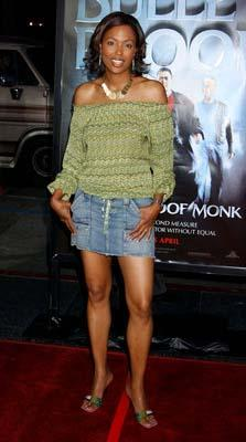 Premiere: Aisha Tyler at the Hollywood premiere of MGM's Bulletproof Monk - 4/9/2003