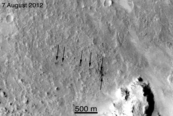 Man-Made Mars Craters Likely Beyond Curiosity Rover's Reach