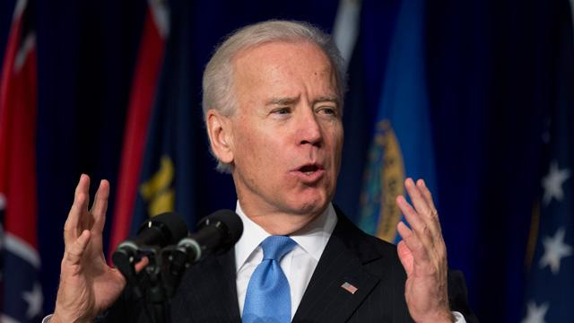 Biden Invokes Untold Horror at Sandy Hook in Gun-Control Plea
