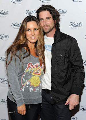 Jillian Barberie and Grant Reynolds attend the celebration of the Environmental Partnership of Kiehl's Rare Earth Deep Pore Cleansing Masque Benefiting Waterkeeper Alliance on April 7, 2011 in Santa Monica, Calif. -- Getty Premium