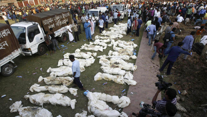 Police arrest 3 officials of Bangladesh factory where 112 died; suspected of locking doors