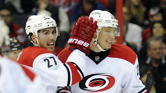 Gerbe's goal lifts Hurricanes past Capitals 3-2