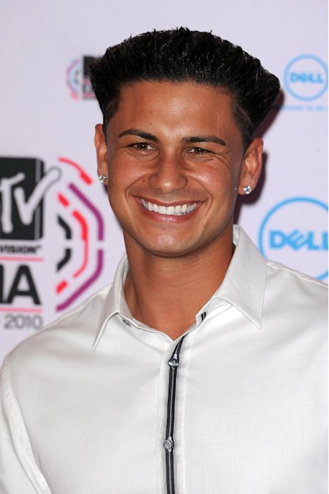 "FILE - In this Nov. 7, 2010 file photo, TV personality Paul ""DJ Pauly D"" DelVecchio arrives for the MTV European Music Awards 2010, in Madrid. In Seaside Heights, N.J., New Yorker Michael Maldonado is"
