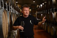 "Walter Friedl, who co-owns Lacerta winery. ""We are here at 45 degrees of latitude and we have conditions like in Bordeaux or Tuscany,"" he said from his vaulted cellar, where wine matures in oak barrels made in France, Hungary and Russia as well as Romania"