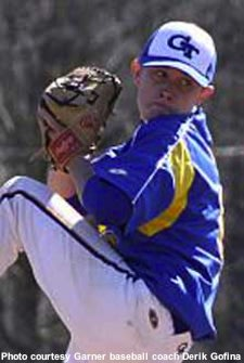 Garner pitcher Scotty McCreery — Garner Baseball
