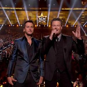 The 50th Annual ACMs - Luke & Blake Intro