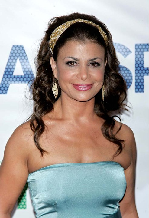 "Paula Abdul attends the ""Hairspray"" premiere presented by New Line Cinema."