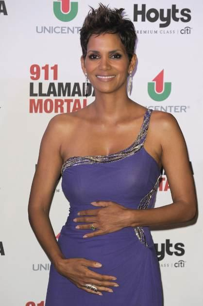 Halle Berry attends the premiere of 'The Call' at Hoyts Cinemas on April 8, 2013 in Buenos Aires, Argentina -- Getty Premium