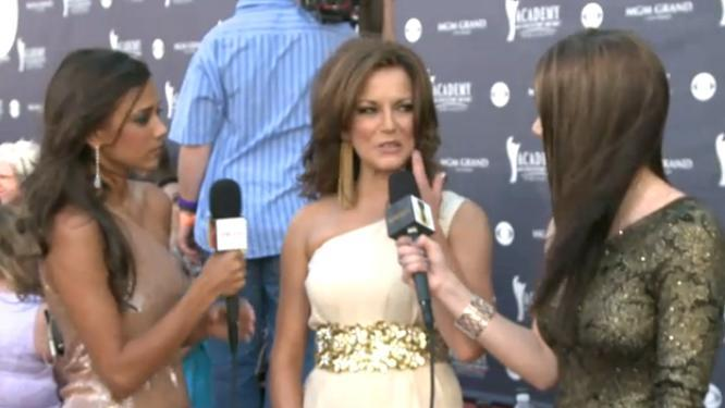 2011 Red Carpet Interview (Academy Of Country Music Awards)