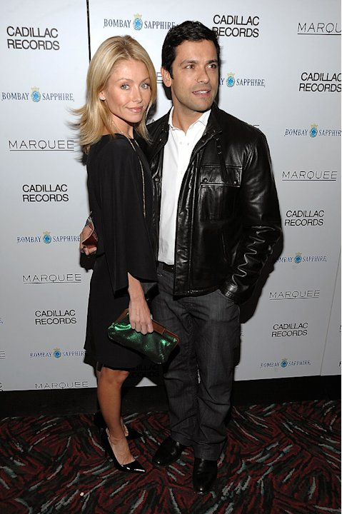 Cadillac Records NY Premiere 2008 Kelly Ripa Mark Consuelos