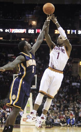 Irving scores 22 to push Cavs past Pacers 98-87