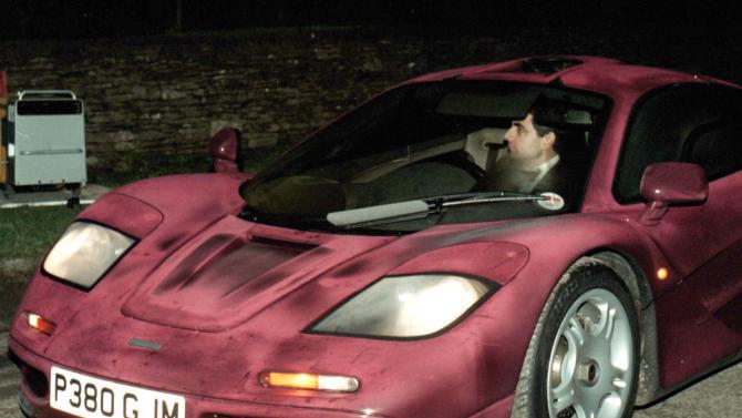 Giant bill for fixing Rowan Atkinson's McLaren