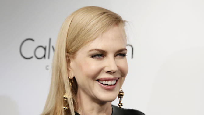 Actress Nicole Kidman arrives at the Calvin Klein party, in Cannes, southern France, Thursday, May 16, 2013. (Photo by Todd Williamson/Invision/AP)