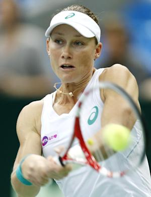Stosur faces Kuznetsova in Kremlin Cup semifinals