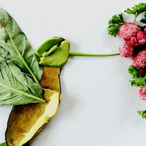 Photographer turns leftovers into works of art