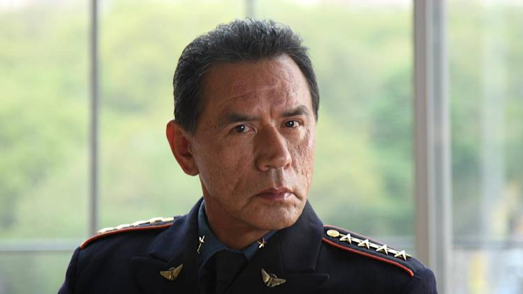 "Wes Studi stars as ""General Linus Abner"" in Kings."