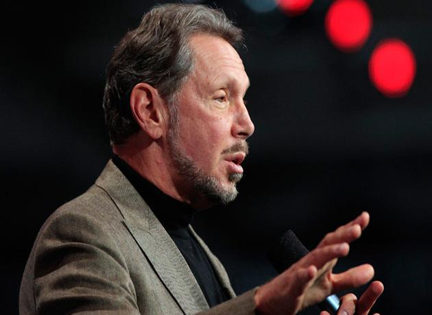 Larry Ellison, de Oracle, el CEO mejor pago de Estados Unidos durante 2012