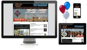 Industrial Asset Management Company Launches Responsive Website
