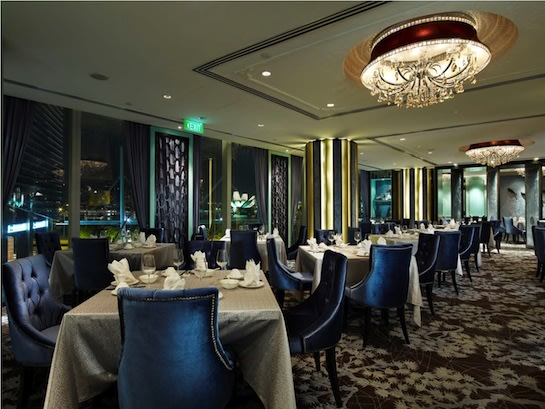 Paradise Pavilion offers modern touches on classic dim sum favourites.