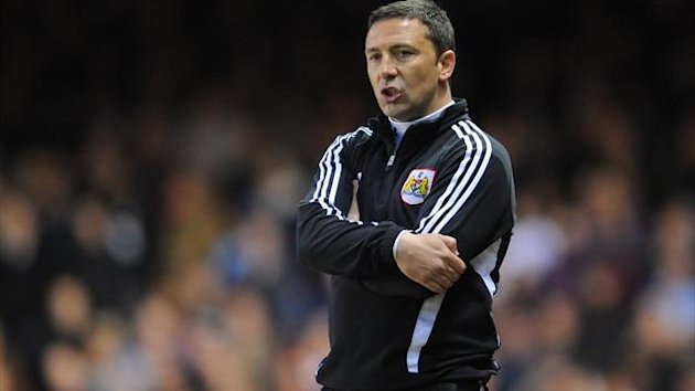 Derek McInnes, pictured, is taking a look at Frank Feltscher