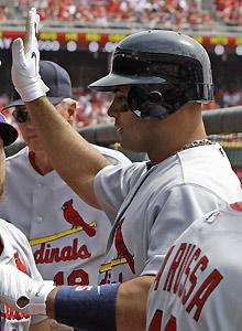 Cardinals, Pujols aren't making progress