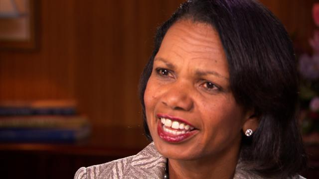 Condoleezza Rice on why President Bush stirred up such passionate hate
