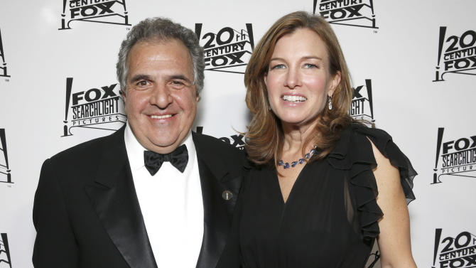 20th Century Fox Chairman Jim Gianopulos and wife Anne Gianopulos attend the Twentieth Century Fox And Fox Searchlight Pictures Academy Awards Nominees Party at Lure on Sunday, February 24, 2013 in Los Angeles. (Photo by Todd Williamson/Invision for Fox Searchlight/AP)