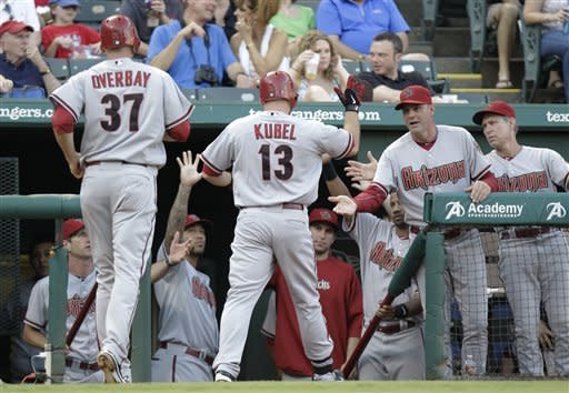 Diamondbacks' 11-3 win at Texas first since 2000