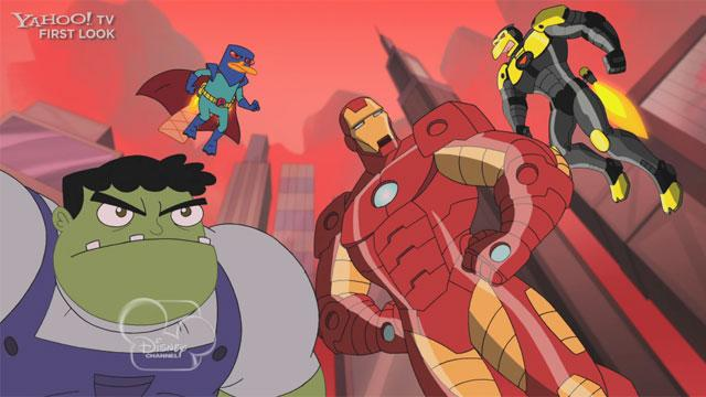Phineas and Ferb: 'Mission Marvel' Exclusive Clip