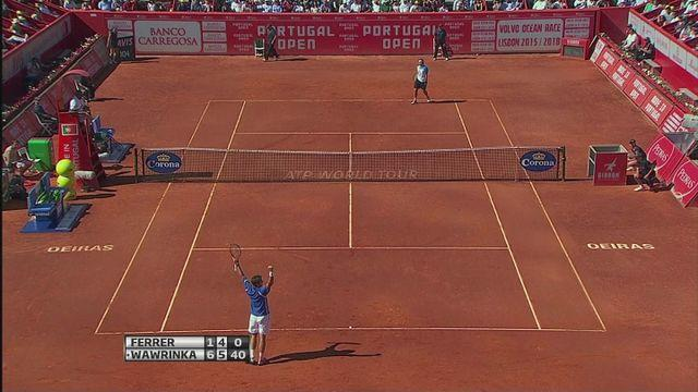 Wawrinka beats Ferrer to win Portugal Open [AMBIENT]