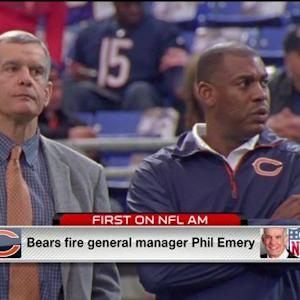 Chicago Bears fire general manager Phil Emery