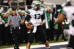 Southlake Carroll quarterback Kenny Potter in the Texas Class 5A Div. II state title game