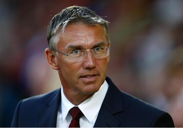 Nigel Adkins insists he feels secure in his position at Southampton