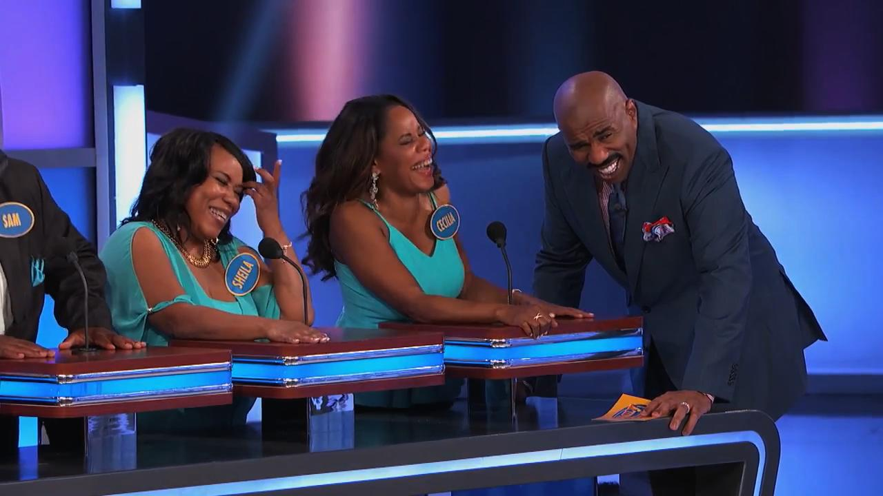 Steve Harvey Experiences the Worst 'Family Feud' Contestant of All Time