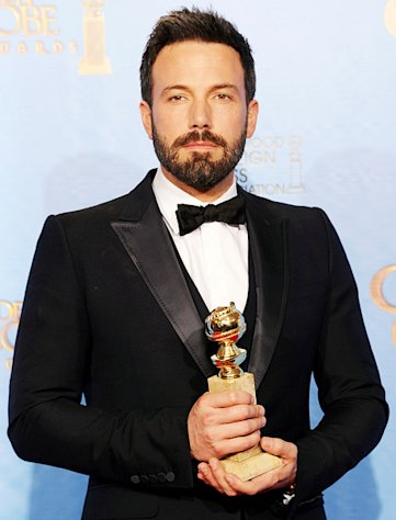 Ben Affleck Wins Best Director, Best Picture Golden Globes for Argo, Tells Jennifer Garner: &quot;You Are My Everything&quot;