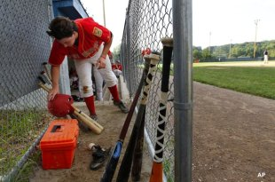 The Warwick American Legion post now uses only wooden bats, along with the rest of the state's Posts