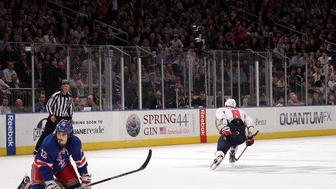 Alex Ovechkin #8 Of The Washington Capitals Celebrates Getty Images