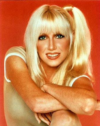 "Chrissy Snow on ""Three's Company,"" played by Suzanne Somers"