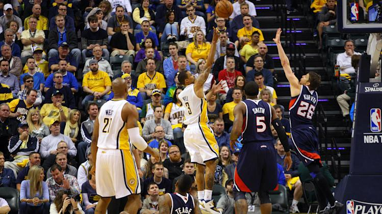 NBA: Playoffs-Atlanta Hawks at Indiana Pacers