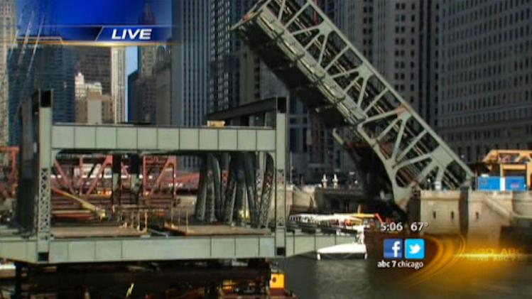 Commuters deal with Brown, Purple line changes during Wells St. Bridge construction