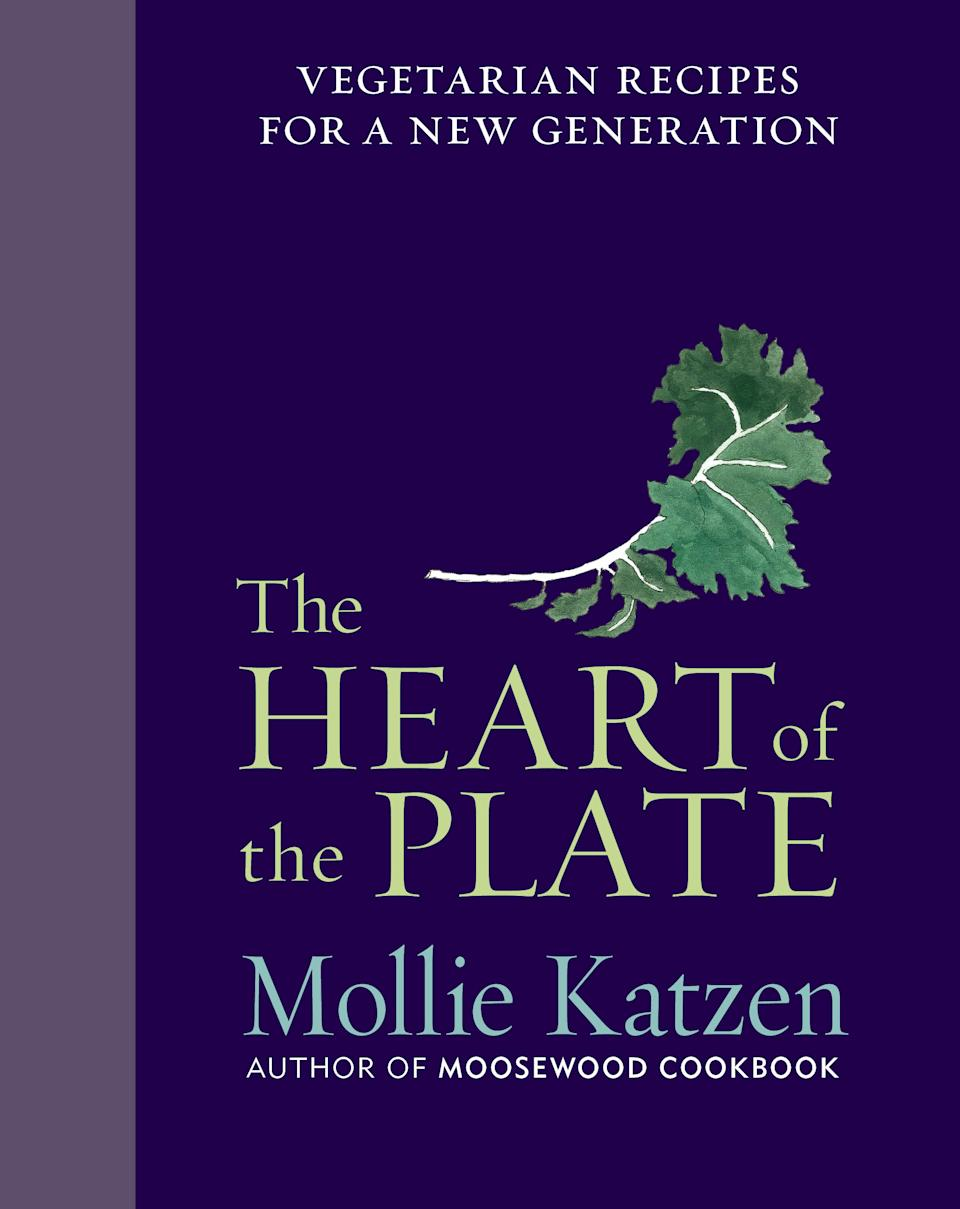 "This undated publicity photo provided by Houghton Mifflin shows the cover of Mollie Katzen's cookbook, ""Heart of the Plate,"" published by Houghton Mifflin, releasing in stores in September 2013. (AP Photo/Houghton Mifflin)"